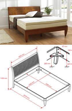 Cadre de lit vente en ligne - Vente de lit en ligne ...