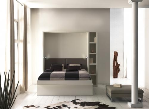 boone loft combin lit escamotable canap pour couchage 2. Black Bedroom Furniture Sets. Home Design Ideas
