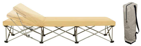 lit pliant 2 places camping table de lit a roulettes. Black Bedroom Furniture Sets. Home Design Ideas